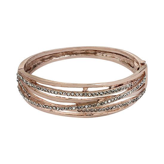 Worthington® Crystal-Accent Bangle Bracelet