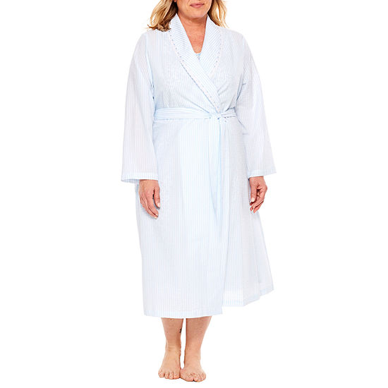 d3546fbe8a Adonna Womens Pajama + Robe Sets 2-pc. Long Sleeve - JCPenney