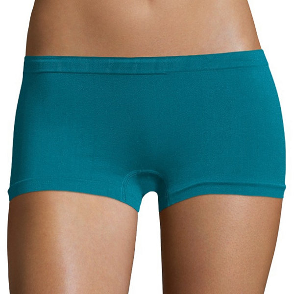 Real® 3-pc. Seamless Boyshort Panty