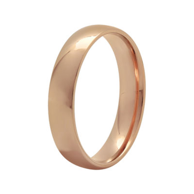 Womens 4 Mm 10K Gold Wedding Band