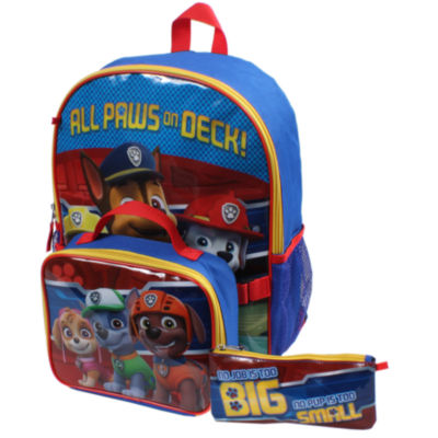 Paw Patrol Backpack and Lunch Box