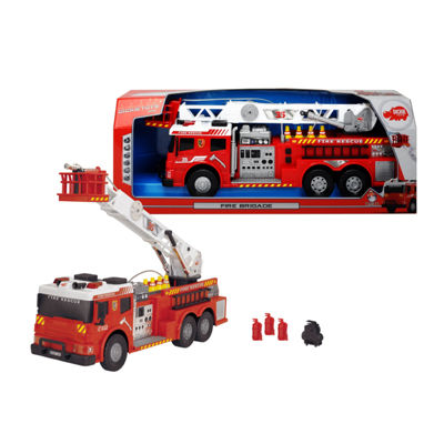 Majorette Action Series Tow Truck And Accessories