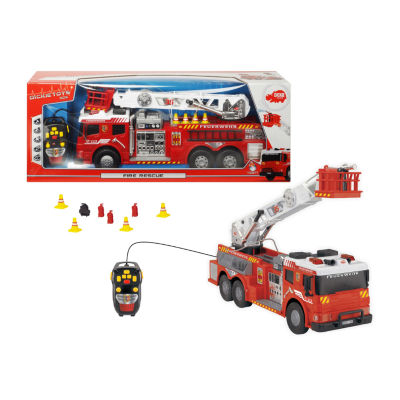 Light And Sound Action Crane Truck With Moving Ladder