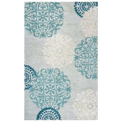 Rizzy Home Dimensions Medallion Rectangular Rugs