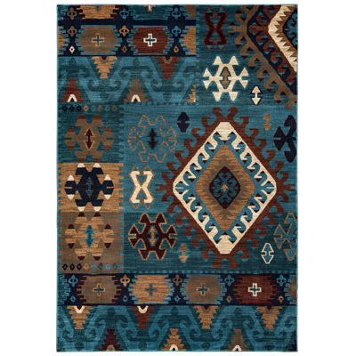 Rizzy Home Bellevue Southwest Tribal Rectangular Runner