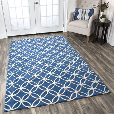 Rizzy Home Opus Geometric Rectangular Rugs