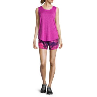jcpenney.com | Xersion Lattice Supreme Tank or Woven Colorblock Run Shorts