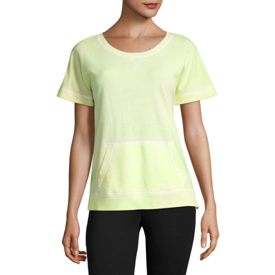 Xersion Dolman Short Sleeve Sweatshirt - Tall
