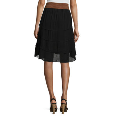 by&by Batiste Skater Skirt-Juniors