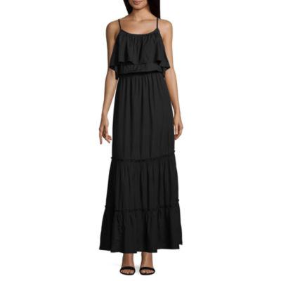 a.n.a Sleeveless Floral Maxi Dress