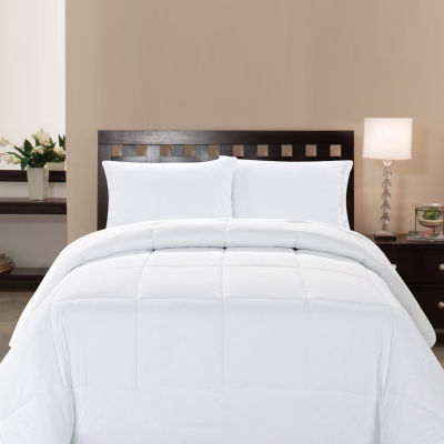 Microfiber Goose Down Double Fill Alternative Comforter