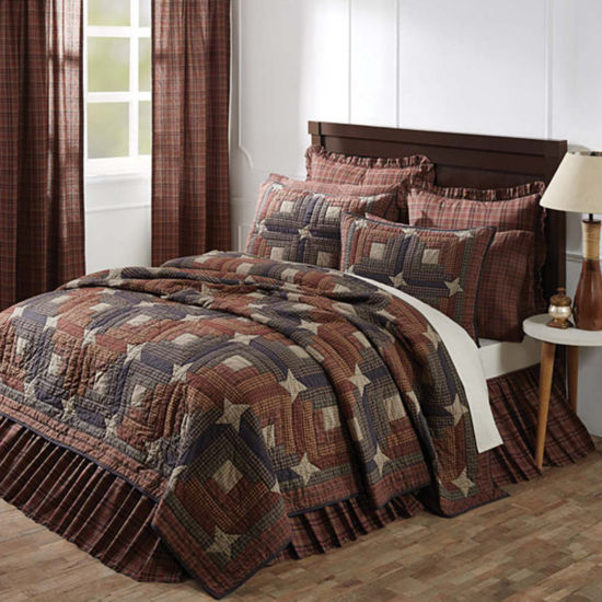 VHC Brands Parker Quilt & Accessories