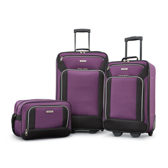 American Tourister Fieldbrook Xlt 3-pc. Lightweight Luggage Set