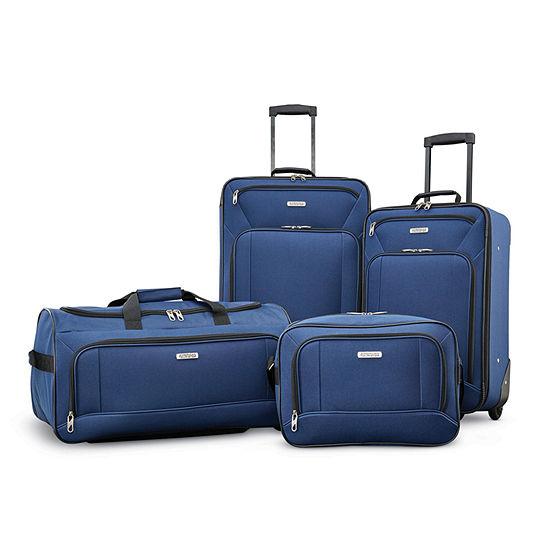 American Tourister Fieldbrook Xlt 4-pc. Lightweight Luggage Set