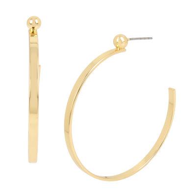 Worthington 4 Inch Hoop Earrings
