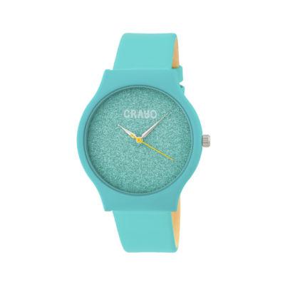 Crayo Unisex Blue Strap Watch-Cracr4504