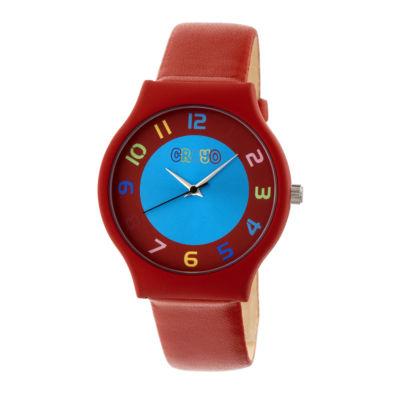 Crayo Unisex Red Strap Watch-Cracr4603