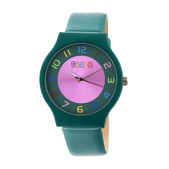 Crayo Unisex Adult Blue Strap Watch-Cracr4605