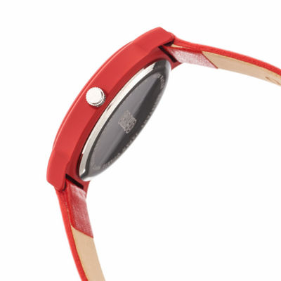 Crayo Unisex Red Strap Watch-Cracr4703