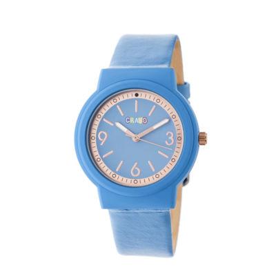 Crayo Unisex Blue Strap Watch-Cracr4705