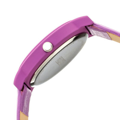Crayo Unisex Purple Strap Watch-Cracr4706