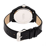 Crayo Unisex Adult Black Strap Watch-Cracr4901