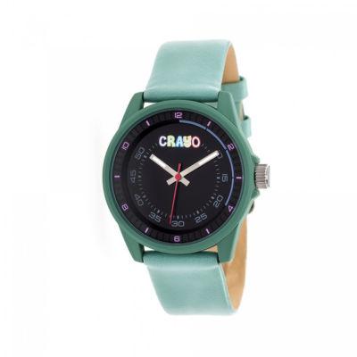 Crayo Unisex Blue Strap Watch-Cracr4903