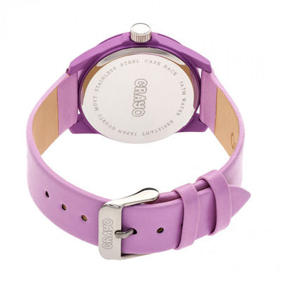 Crayo Unisex Pink Strap Watch-Cracr4905