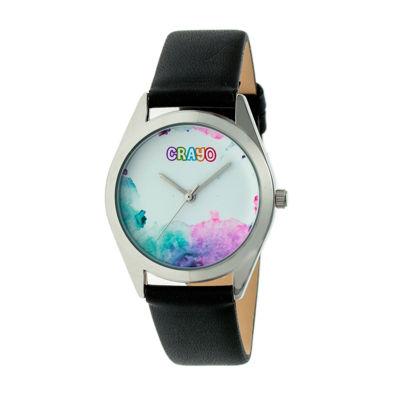 Crayo Unisex Black Strap Watch-Cracr4001