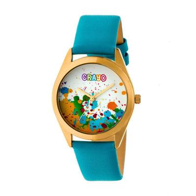 Crayo Unisex Blue Strap Watch-Cracr4004