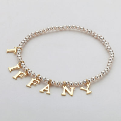 Personalized Womens Stretch Bracelet