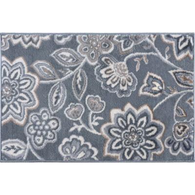 Tayse Emmalyn Transitional Floral Rug