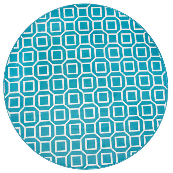 Rizzy Home Glendale Collection Zane Geometric Rug