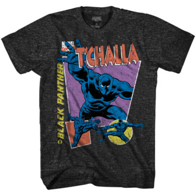 Marvel Avengers Black Panther 90's Tchalla Graphic Tee