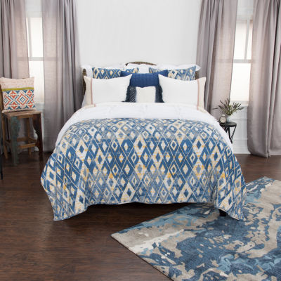 Rizzy Home Maddux Place 2-Piece Asher Quilt Set