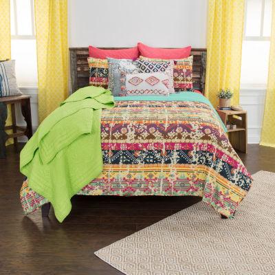 Rizzy Home Maddux Place 2-Piece Dash Quilt Set