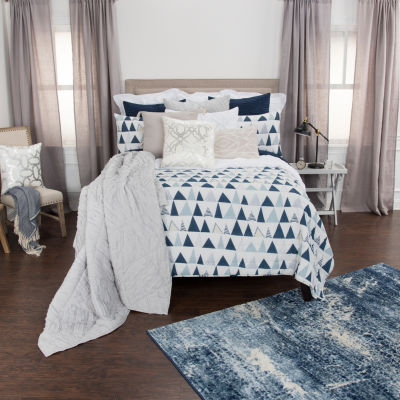 Rizzy Home Maddux Place 2-Piece Flint Quilt Set