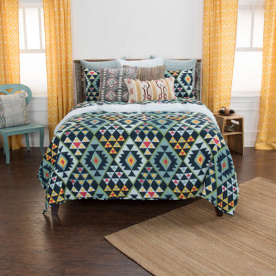 Rizzy Home Maddux Place 2-Piece Miles Quilt Set