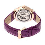 Empress Womens Pink Leather Strap Watch-Empem2206