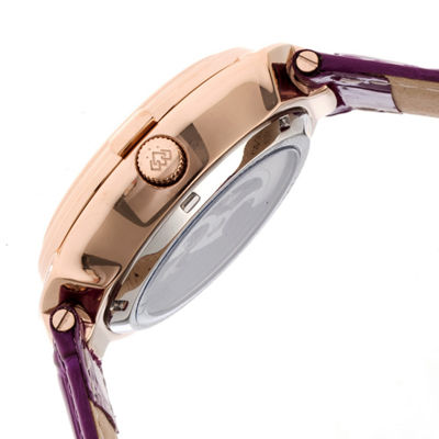 Empress Unisex Pink Strap Watch-Empem2206
