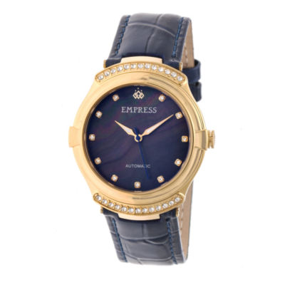Empress Unisex Blue Strap Watch-Empem2204