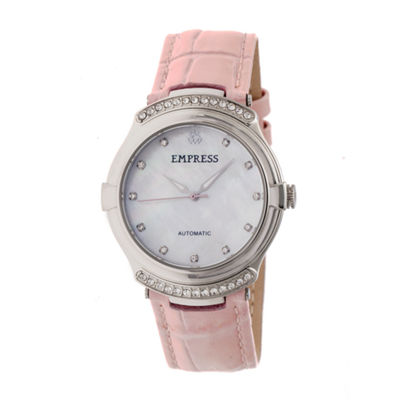 Empress Unisex Pink Strap Watch-Empem2202