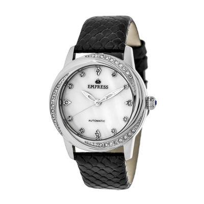 Empress Unisex Black Strap Watch-Empem1001