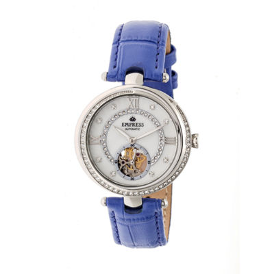 Empress Unisex Purple Strap Watch-Empem2103