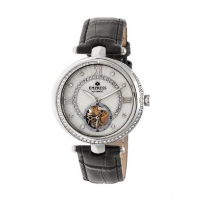 Empress Unisex Black Strap Watch-Empem2101
