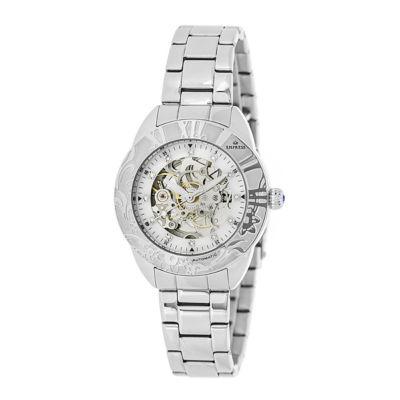Empress Unisex Silver Tone Bracelet Watch-Empem1101