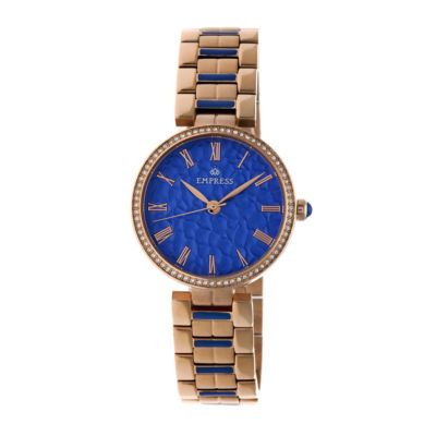 Empress Unisex Rose Goldtone Bracelet Watch-Empem1905