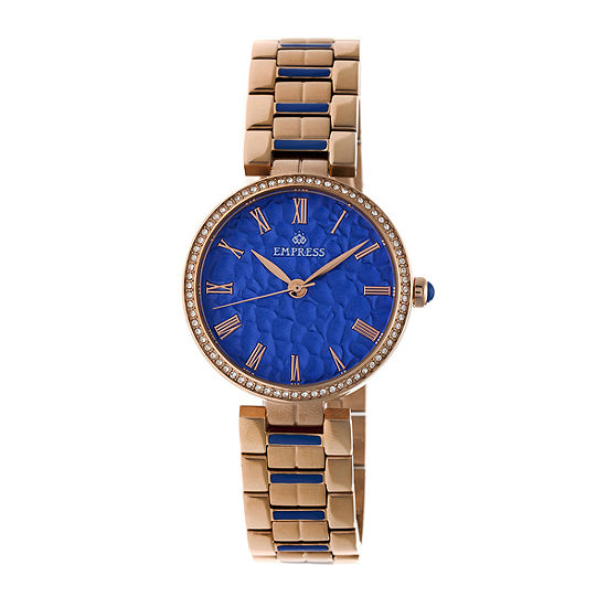 Empress Unisex Adult Rose Goldtone Stainless Steel Bracelet Watch-Empem1905
