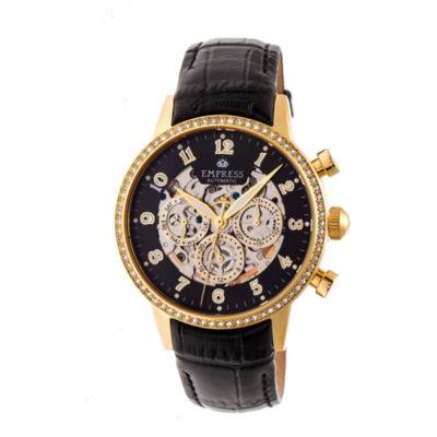 Empress Unisex Black Strap Watch-Empem2004