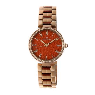 Empress Unisex Rose Goldtone Bracelet Watch-Empem1904